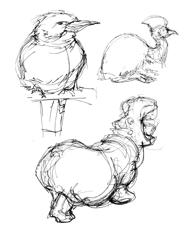 Life Drawings from Zoo 2